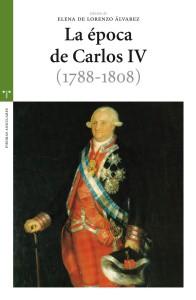 Portada de La época de Carlos IV